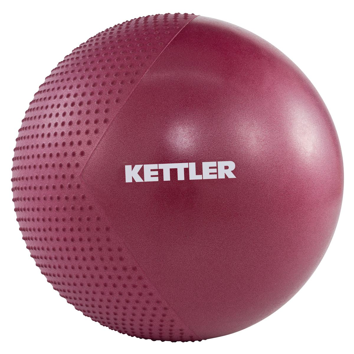 KETTLER gymnastický míč 75 cm - vínový