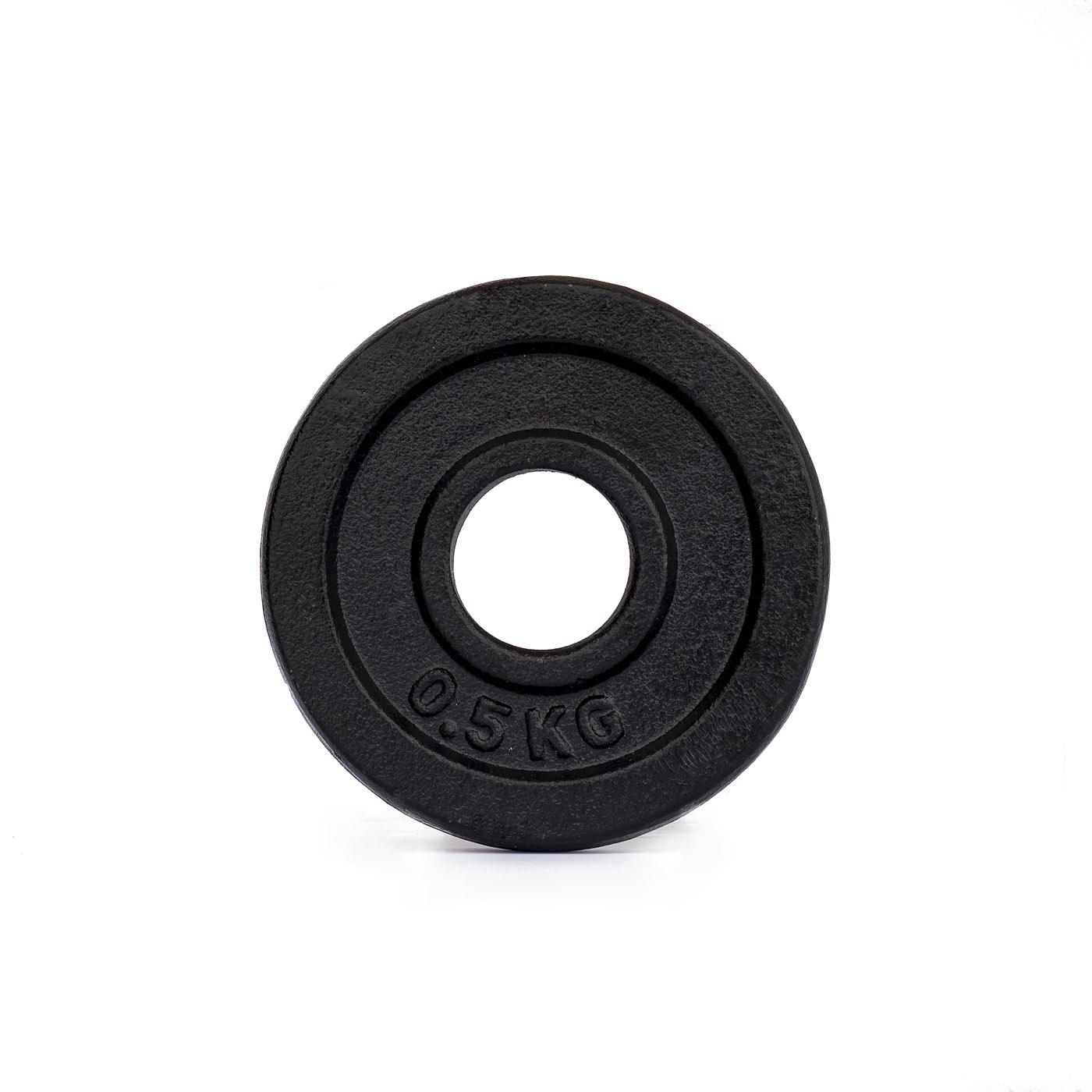 Závaží na činky TRINFIT litina 0,5 kg / 30 mm