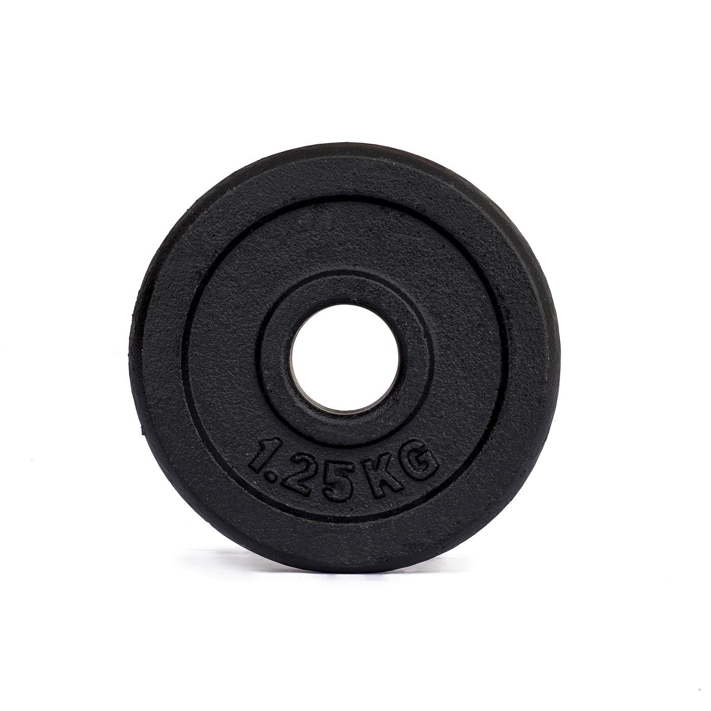 Závaží na činky TRINFIT litina 1,25 kg / 30 mm
