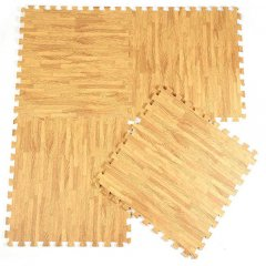 Podložka Fitness puzzle mat wood 4g