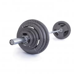 Olympijská činka TRINFIT 130 kg Hammertone