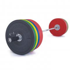 Olympijská činka TRINFIT 230 kg Bumper CrossGym