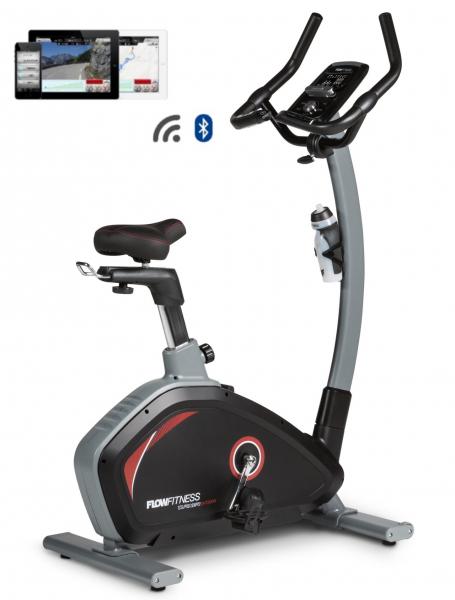 Flow Fitness DHT2000i z profilu + app