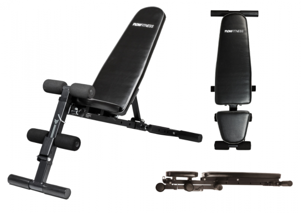 Posilovací lavice FLOW Fitness SMB50 profil