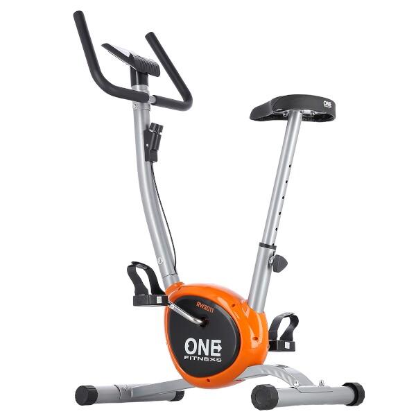 ONE Fitness RW3011 stříbrno-oranžový Celkový pohled