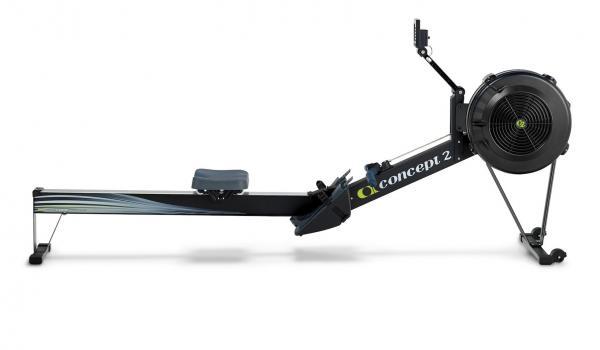 Concept2 RowErg PM5 z profilu
