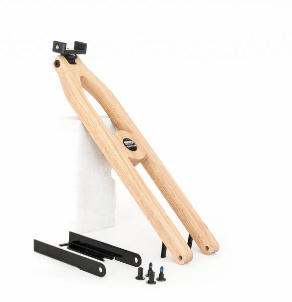 NOHrD Water Rower Tablet-Arm Oak