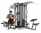 FINNLO MAXIMUM M5 multi-gym přítahy v sedě spodní madla