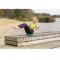 Vzduchová balanční podložka TUNTURI s pumpičkou workout 2