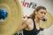 Profesionální olympijská osa TRINFIT 2200 mm BLACK Competition promo 2