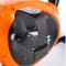 ONE Fitness RW3011 černo-oranžový Detail šlapka