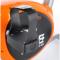 ONE Fitness RW3011 stříbrno-oranžový Šlapka