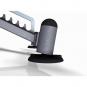 Variabilní posilovací lavice MARBO MP-L202 nastavitelné nohy