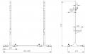 TRINFIT Rack HX7 výkresg