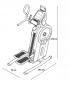 Proform Hiit Trainer rozměry trenažéru