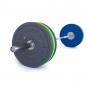 Olympijská činka TRINFIT 120 kg Bumper CrossGym foto