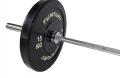 Olympijská tyč TUNTURI Cross Fit 220cm, 20 kg, 28 mm detail 2