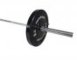 Olympijská tyč TUNTURI Cross Fit 220cm, 20 kg, 28 mm detail