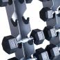 TRINFIT Dumbbell Rack Tower FK01 detail činky 1