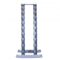 TRINFIT Dumbbell Rack Tower FK01 zpředu prázdný