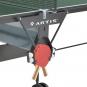 ARTIS Stůl na stolní tenis 126 indoor - držák na pálky a míčky