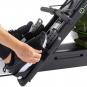 Tunturi R85W Rower Dual Rail Endurance nášlapy