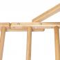 ribstole BERGER 230 x 78 cm - otvory k polohování hrazdy
