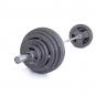 Olympijská činka TRINFIT 180 kg Hammertone