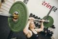 Olympijská činka TRINFIT 220 kg promo 5