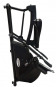 Veslovací trenažér Finnlo Maximum Cross Rower CR2.5 možnost složení