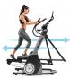 NORDICTRACK FreeStride Trainer FS7i pohyb - běžkování/běhání