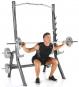 Finnlo Maximum Squat Rack cvik 7