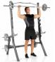Finnlo Maximum Squat Rack cvik 10