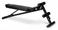 Posilovací lavice FLOW Fitness SMB50 horizontální poloha zádové opěrky