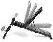 Posilovací lavice FLOW Fitness SMB50 z boku - možnost polohování