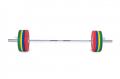 Olympijská osa 2200 mm naložená