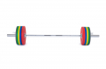 Olympijská osa TRINFIT 2200 mm naložená