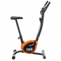 ONE Fitness RW3011 černo-oranžový Pohled z boku
