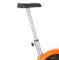 ONE Fitness RW3011 stříbrno-oranžový Detail nastavení sedla
