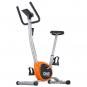 ONE Fitness RW3011 stříbrno-oranžový Pohled zepředu