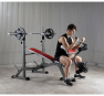 BH Fitness Optima Press Bench G330_cvik biceps