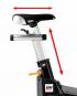 BH Fitness Super Duke Magnetic nastavení sedla