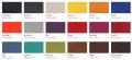 barevné varianty koženky