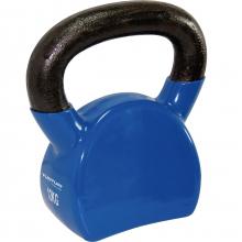 Kettlebell VINYL 12 kg TUNTURI modrý