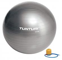 Gymnastický míč s pumpičkou 75 cm TUNTURI stříbrný