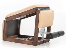 Posilovací lavice NOHrD TriaTrainer Walnut (Ořech) Genuine Leather Natural